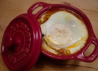 Huevos con sanfaina