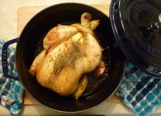 Pollo en cocotte