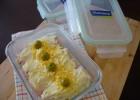 Canelones de jamón y ensaladilla